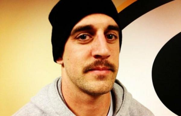 Aaron Rodgers Mustache Gets Him Arrested On Rape Charges