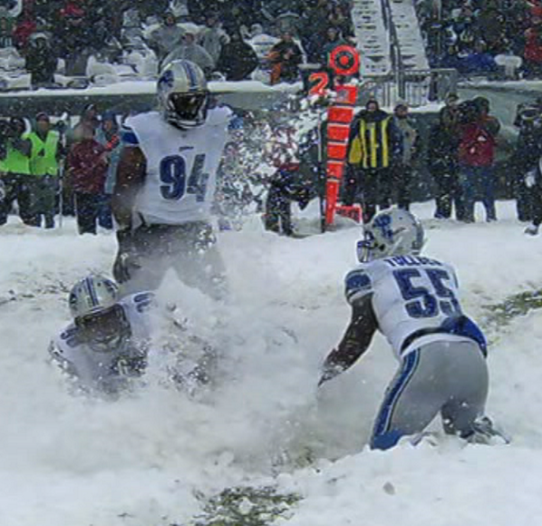 Star Wars Snow Gif >> GIF: Nick Foles gets sacked, then eaten by the snow - NOTSportsCenter