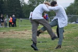 Shin-Kicking