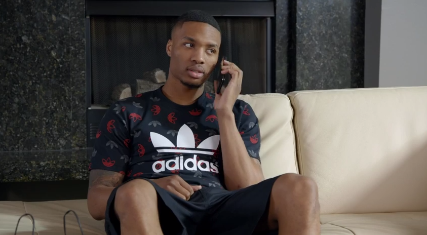 VIDEO: Damian ringless mocks athletes  Lillard in Foot