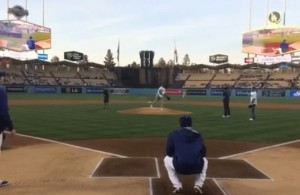 NickYoungDodgersFirstPitch