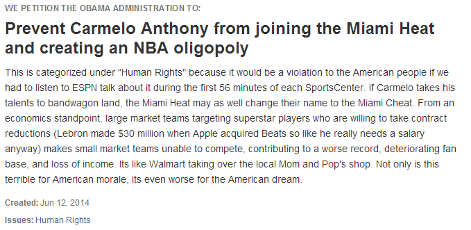 Heat-Carmelo-Anthony-White-House-Petition