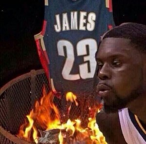 Lance-blows-out-burning-LeBron-Cavs-jersey