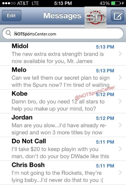 LeBron-pre-decision-free-agency-text-inbox-July-10