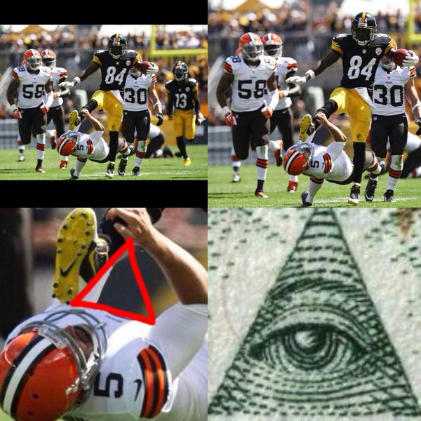 Top 10-funniest-Antonio-Brown-kick-memes-Illuminati