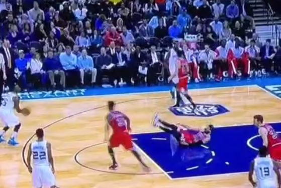 VINE: Kemba Walker crosses Nikola Mirotic out of his ankles